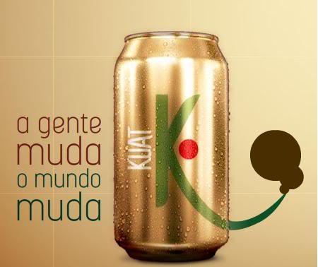 Novo Rótulo Guaraná Kuat
