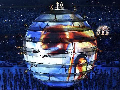 Fotos da Abertura Oficial dos Jogos Olímpicos de Pequim