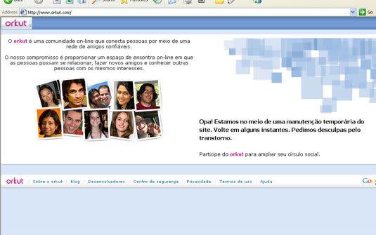 Orkut Fora do Ar