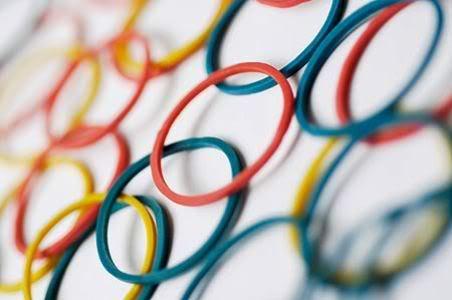 Pulseiras de Plástico Coloridas