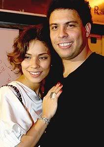 Ronaldo e Bia Antony