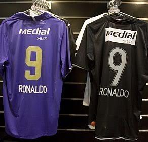 Camisa Ronaldo no Corinthians