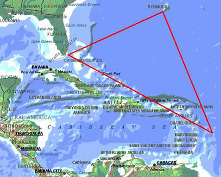 Triângulo de Bermudas