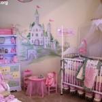 quarto de bebe feminino 150x150 Dicas para decorar quarto infantil pequeno