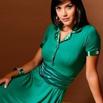 vestidoverde 150x150 Moda Evangélica Vestidos Longos