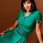 vestidoverde 215x3001 150x150 Moda Evangélica Vestidos Longos