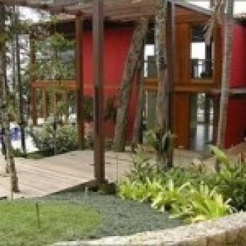 Frente de Casas Residenciais Decoradas Com Jardim Fotos