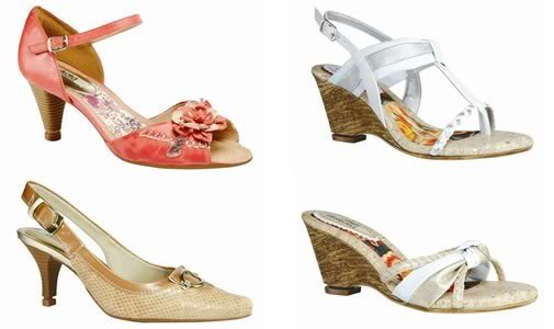 sapatos femininos dakota
