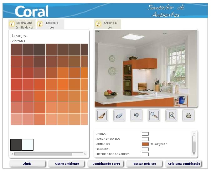 Simulador de tintas para ambiente - Simulador pintura paredes fotos propias ...