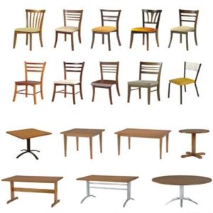 Cadeira e Mesa Para Restaurante