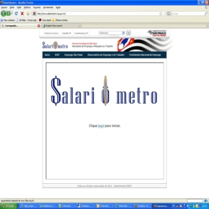 Salariômetro Site Salariometro.sp.gov.br