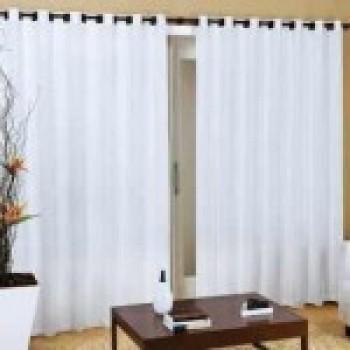 cortinas varão para sala  fotos de cortinas de varão 1