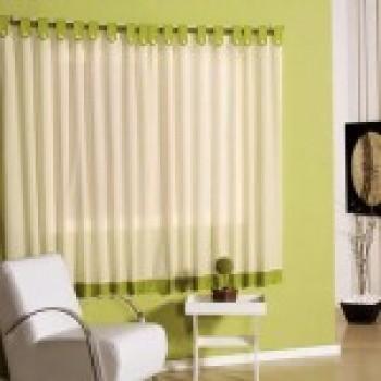 cortinas varão para sala  fotos de cortinas de varão 2