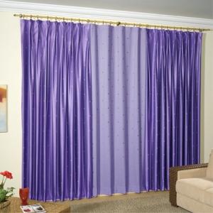 cortinas varão para sala  fotos de cortinas de varão 5