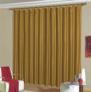 cortinas varão para sala  fotos de cortinas de varão