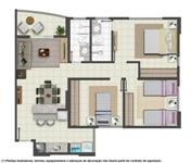 planta de apartamentos grátis, pequenos, com medidas 4