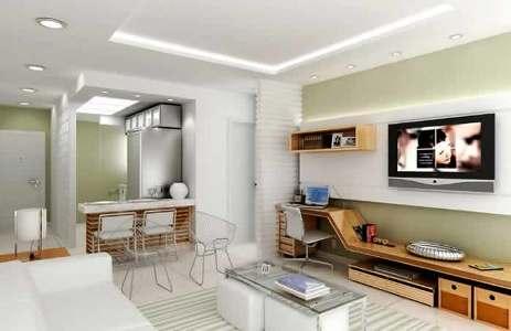 planta de apartamentos grátis, pequenos, com medidas