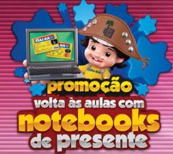 promoção casas bahia volta às aulas com notebooks de presente