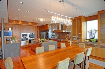 Armarios de cozinha de madeira Fotos