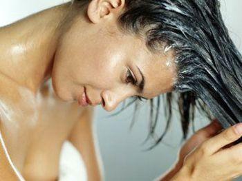 Hidratação para cabelos ressecados
