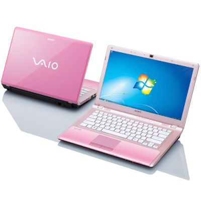 Notebook Sony Vaio rosa