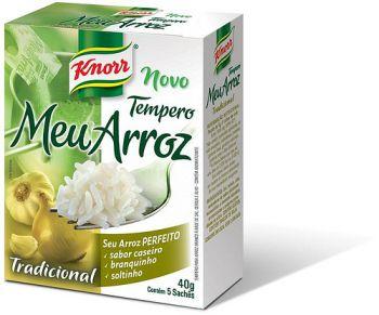 Receber amostra gratis meu arroz Knorr na minha casa