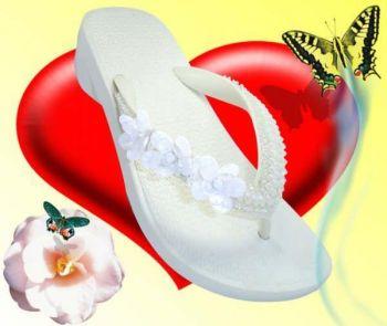 Sandalias para casamento de dia - sandalias personalizadas