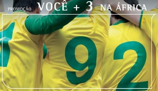 promoção passagens para copa mundo 2010 da TAM