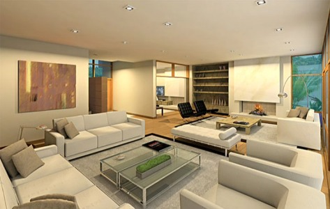 Móveis para decoração de sala