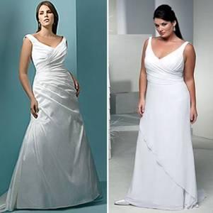 Vestidos de Noivas Para Gordinhas 2013 - 2014 – Fotos
