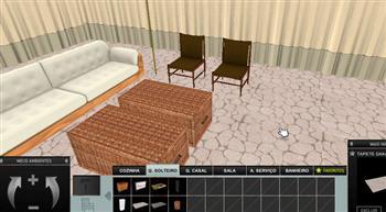 Simulador de ambientes de decora o for Simulador de ambientes 3d