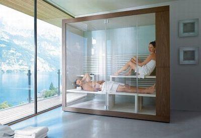 saunas para casas projetos decora o. Black Bedroom Furniture Sets. Home Design Ideas
