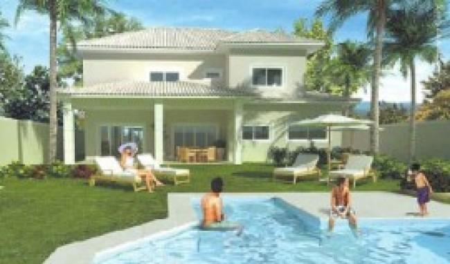 Fotos de casas com piscinas for Modelos de piscinas en casa