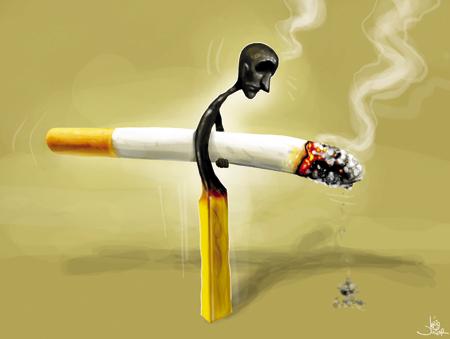 A fumagem deixada como rapidamente ganhar o peso