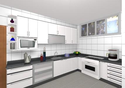 Móveis Para Cozinha Pequena, Cozinhas Planejadas - MundodasTribos