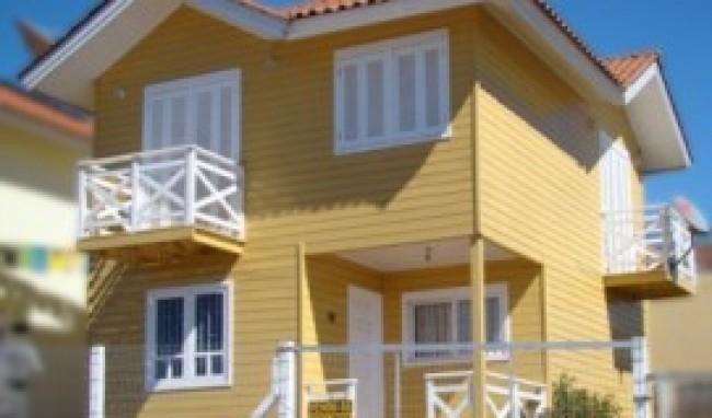 Pintura de casas de madeira dicas fotos mundodastribos - Pintura de casas ...