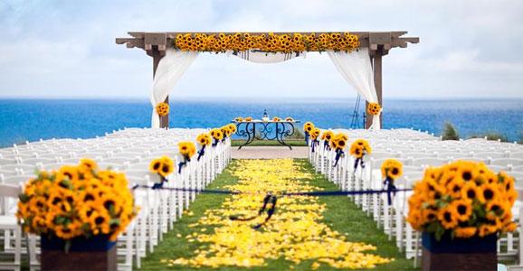 decorar ouro branco:Decoração para Casamento na Praia, Fotos