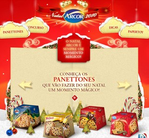 Confira a promoção de Natal da Arcor 2012