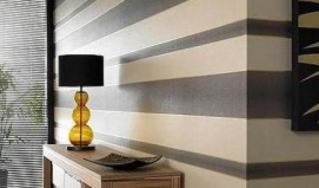 Clean Wallpaper Design : Decoração em Paredes de Sala Fotos, Dicas