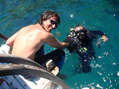 Curso de mergulho em santos