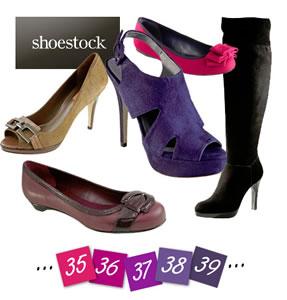Sapatos em Promoção na Shoestock