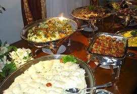 O jantar é para casamentos formais