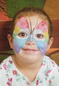 pintura em rosto infantil 208x300 Como Fazer Pintura em Rosto Infantil
