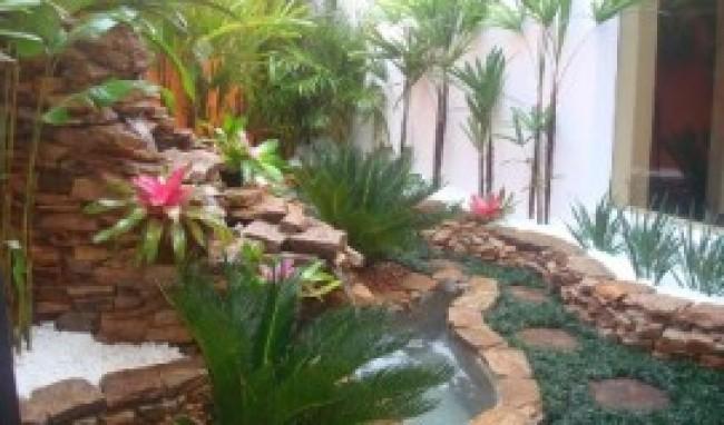 Jardim Interno Como Fazer