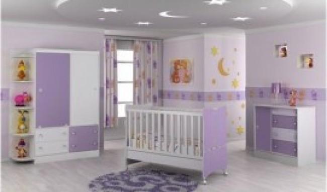 Conjuntos de quarto de bebê Sugestões MundodasTribos  ~ Quarto Solteiro Magazine Luiza