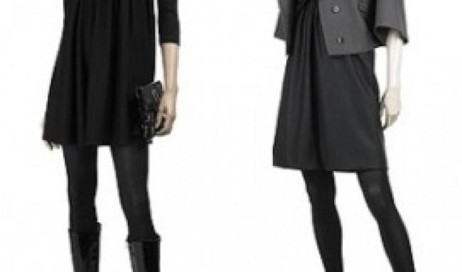 casaco e bota Moda Vestido Inverno 2011