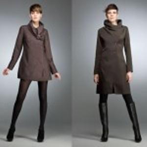 trapezoidal Moda Vestido Inverno 2011