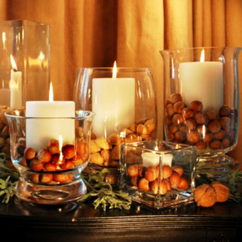 Ideias para decorar ambientes com velas - Velas para decorar habitacion ...